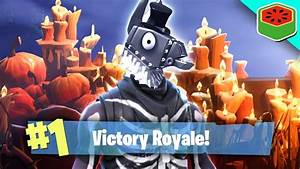 THE SPOOKIEST VICTORY ROYALE!   Fortnite Battle Royale ...