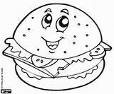 Hamburger Panino Cheeseburger Pusheen Harburger Sorrindo Hamburguesa Colouring Kolorowanka Glimlachen Archivioclerici Hambúrguer Mangiare Comer Fantastiche Draghi Tigela Sopa Bebidas sketch template
