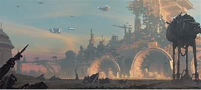 Wars Destroyer Artstation Tony Concept Alien Weinstock