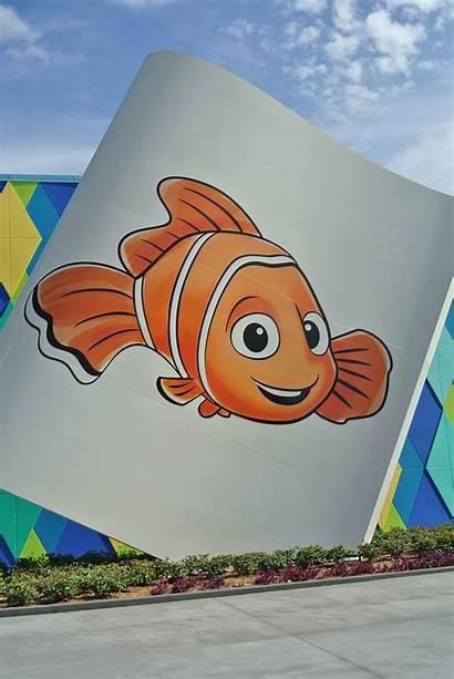 Nemo Animation Finding Walk Resort Artwork Disney