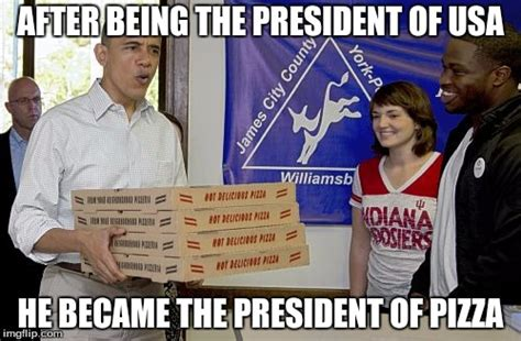 Pizza Delivery Meme - obama pizza delivery imgflip