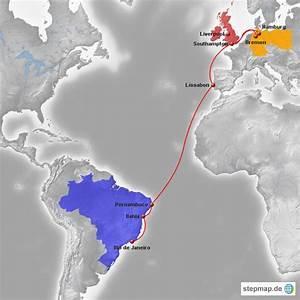 Schiffsroute Berechnen : schiffsroute brasilien von pfennigesven landkarte f r deutschland ~ Themetempest.com Abrechnung