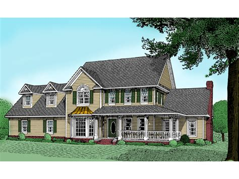 Shadowcreek Country Farmhouse Plan 067d-0013