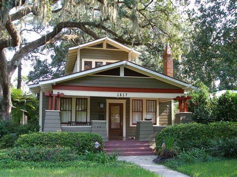 Classic Craftsman Bungalow Colors  Orlando Historic