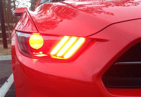 mod   day  mustang custom headlights