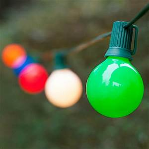 Opaque White Christmas Lights Christmas Lights 25 G50 Opaque Multicolor Patio Lights