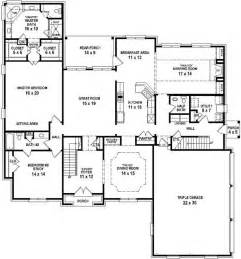 4 bedroom 4 bath house plans 654732 4 bedroom 4 5 bath house with open floor plan house plans floor plans home plans