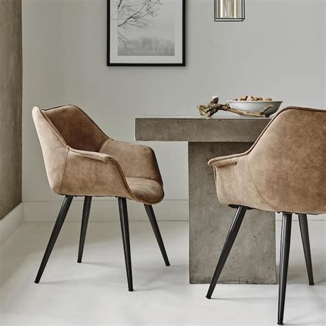 chaises salle à manger cuir chaises cuir salle à manger idées de décoration