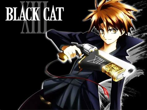 Black Cat Anime Wallpaper - black cat anime black cat anime 12 anime wallpaper