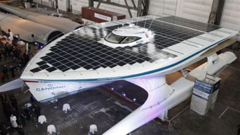 Largest Boat Makers In The World giant solar powered boat unveiled