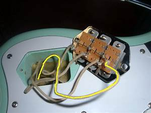 Jaguar Switch Rewire