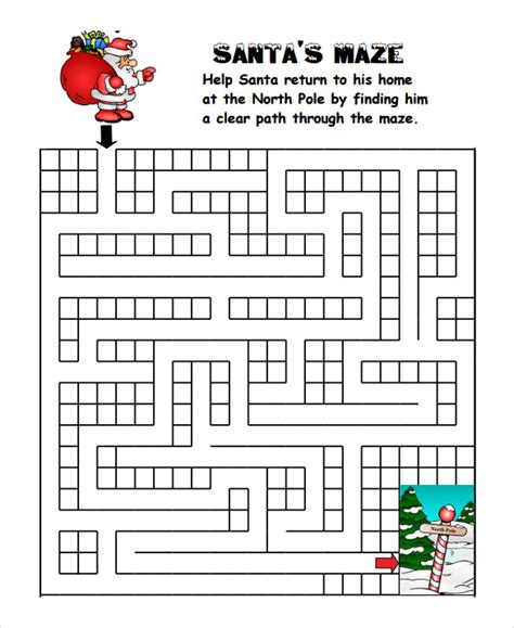 sample christmas game   ms word excel