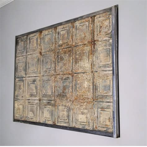 wall wall sculpture antique tin ceiling tile vintage