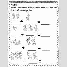 Pre K Worksheets Numbers Addition  Worksheets  Pre K Worksheets, Pre K Math Worksheets
