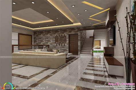 Most Modern Kerala Living Room Interior  Kerala Home