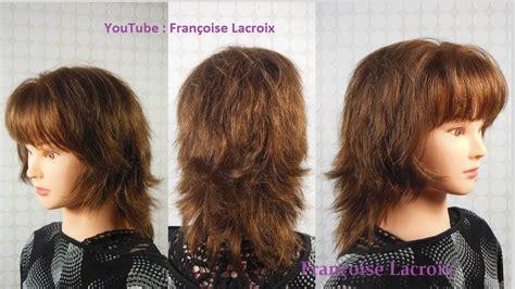 coupe cheveux femme degradee mi longue layered bob