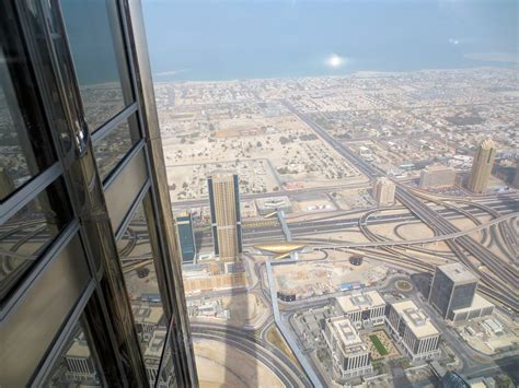 At Thetop Of The Burj Khalifa  Tallest Building In The