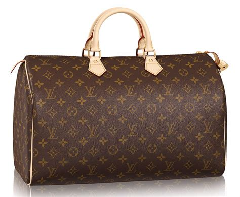 The Louis Vuitton Speedy Bag