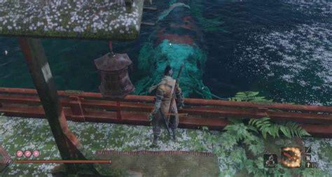 sekiro shadows die  great colored carp boss guide