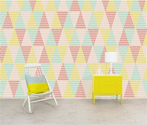 papier peint triangles chiara stella home
