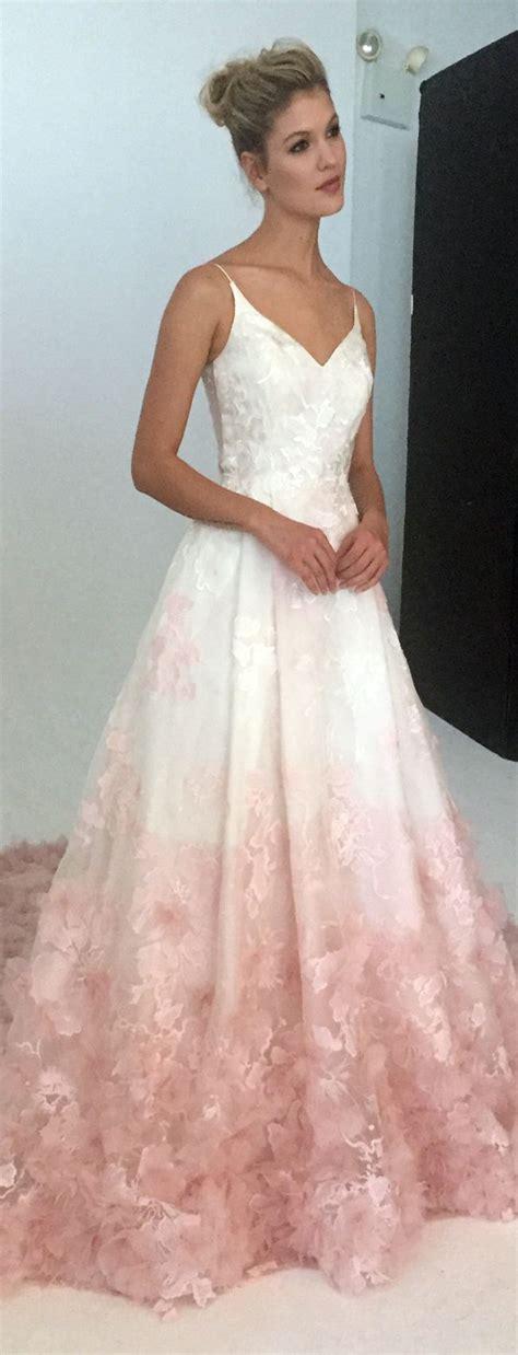 Best 20 Pink Wedding Dresses Ideas On Pinterest