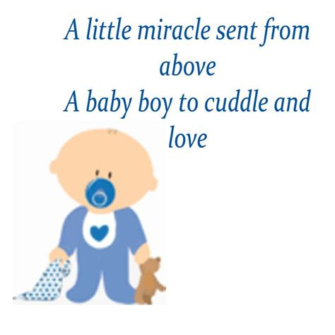boys baby shower poems  quotes quotesgram baby