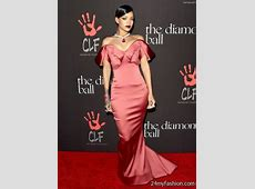 Rihanna red carpet dresses 20172018 B2B Fashion