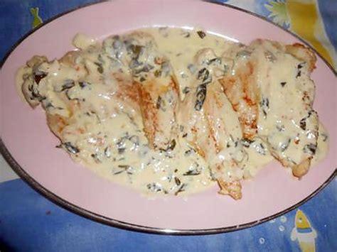 et cuisine poele recette d 39 escalope de dinde creme a l ail et basilic