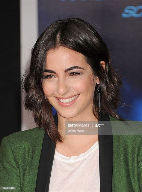 Actress Alanna Masterson arrives at the Los Angeles premiere of 'Need... News Photo ...