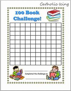 Printable Reading Charts For Kids  20 Book Challenge  40