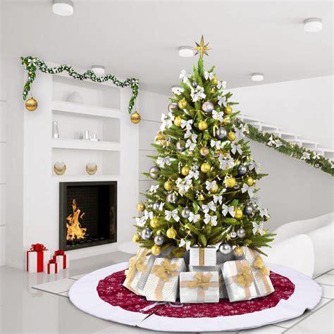 tappeto per albero di natale un tappeto natalizio per una casa pi 249 allegra eccone 20