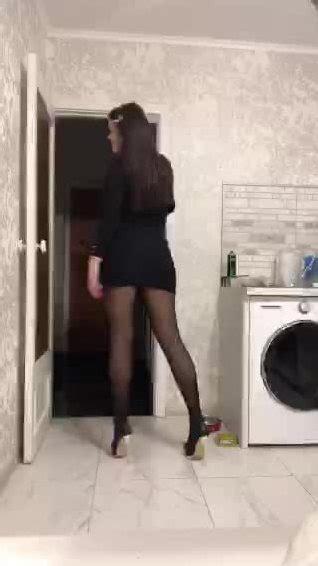 Russian Tatikiska Sexy Stockings Tease On Periscope