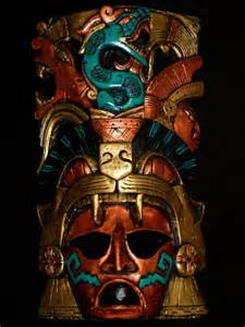 Aztec Jaguar Warrior Mask