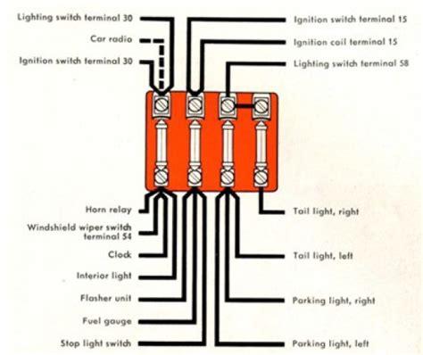 Volskwagen Karmann Ghia Fuse Box Diagram Auto