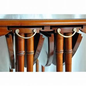 Table Bout De Canapé : table bout de canap gigogne en acajou sur moinat sa antiquit s d coration ~ Teatrodelosmanantiales.com Idées de Décoration