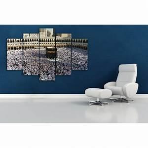 Tableau En 5 Parties : tableaux makkah en 5 parties l m deco ~ Dailycaller-alerts.com Idées de Décoration