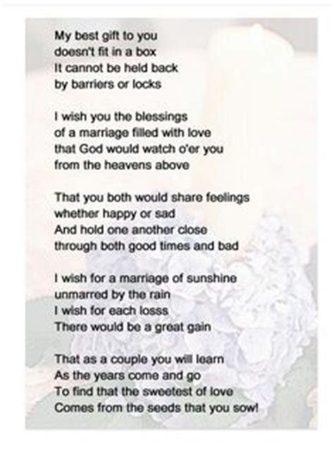 mother  son wedding day poems   son  bride  son