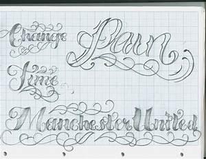 Tattoo lettering script popular tattoo designs for House lettering script