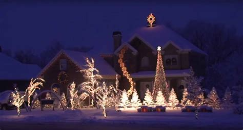 best christmas lights for the top of your house best lights display