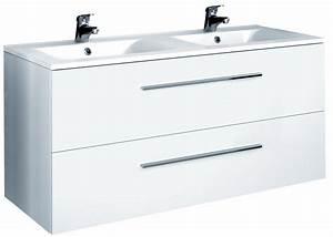 Meuble Salle De Bain Double Vasque 100 Cm : cuisine meuble sous vasque tiroirs cm s rie adesio meuble sous vasque salle de bain 100 cm ~ Teatrodelosmanantiales.com Idées de Décoration