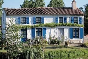 La Maison Du Volet : la maison aux volets bleus patoche17 ~ Melissatoandfro.com Idées de Décoration