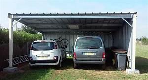 Garage Pour Voiture : garage pvc voiture garage voiture en pvc un abri de ~ Voncanada.com Idées de Décoration