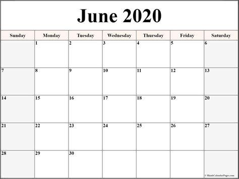 june  calendar  printable monthly calendars