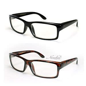 thick frame clear lens glasses quality structure square