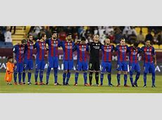 FC Barcelona pay tribute to terror victims upstart