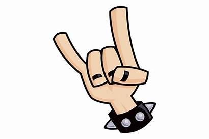 Devil Horns Hand Sign Metal Heavy Symbol