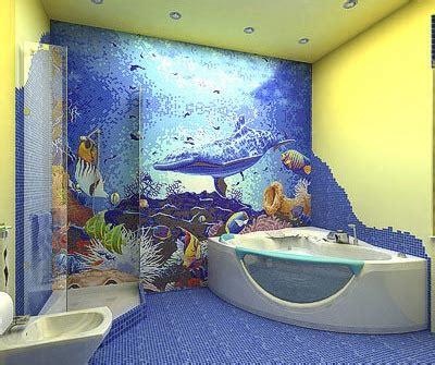 Sea Bathroom Décor  Interior Designing Ideas