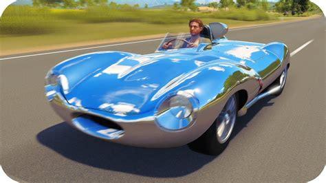 Jaguar D-type!! A 484km/h!!! Fh3