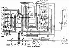 Convertible Tops Wiring Diagram Of 1961 63 Ford Thunderbird  60612