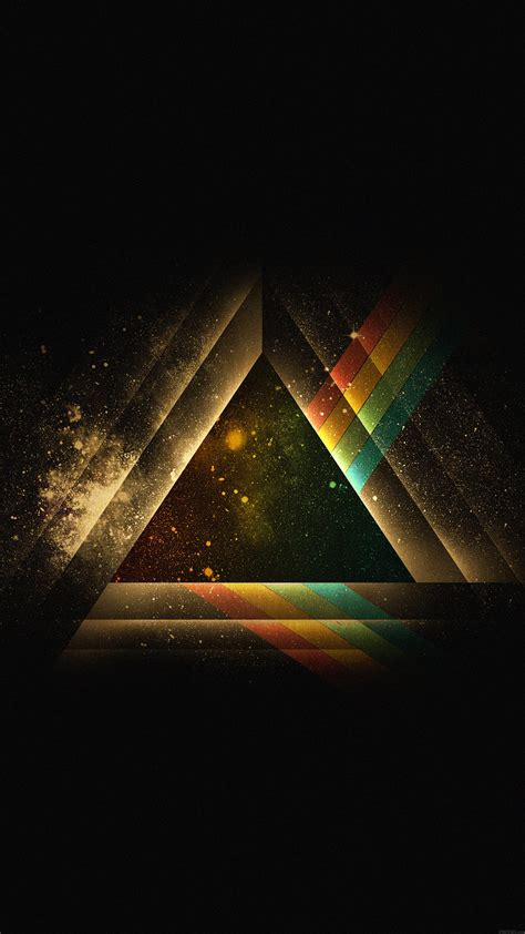 ac wallpaper triangle art rainbow illust graphic papersco